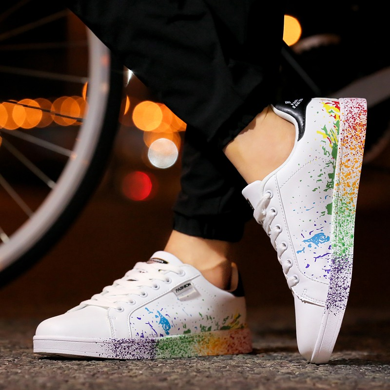 Unisex Skateboard Shoes Men Women Outdoor Flats Sneakers Couple Shoes (49)
