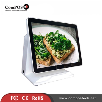 Hot selling  POS terminal 15 inch capacitive Touch Screen POS machine for bakery