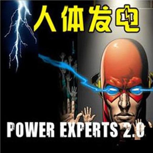 Power Experts 2.0-tours de magie, toucher électrique, choc électrique 2.0, magie de rue, gros plan, accessoires de magie mentalisme, trucos de magia