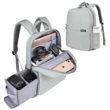 CADeNกระเป๋ากล้องDslrกระเป๋าเป้สะพายหลังกันน้ำแล็ปท็อปดิจิตอลเลนส์กล้องถ่ายภาพกระเป๋าสำหรับCanon Nikon Sony