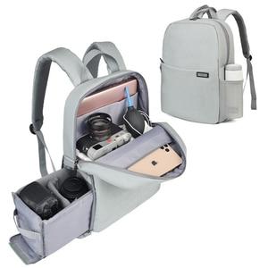 Image 1 - CADeN Dslr מצלמה תיק עמיד למים תרמיל כתף מחשב נייד מצלמה דיגיטלית עדשת צילום מזוודות שקיות מקרה עבור Canon Nikon Sony
