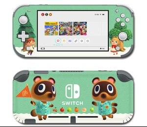 Image 5 - Vinil ekran cilt koruyucu çıkartmalar Nintendo anahtarı için lite konsolu hayvan geçişi Skins