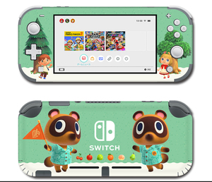 Image 5 - Vinyl Screen Skin Protector Stickers for Nintendo Switch lite Console Animal Crossing Skins