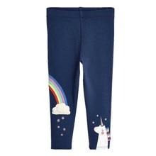 цена на Leggings Girls Pants 2017 Moana Autumn Leggings for Girls Clothes Pattern Print Skinny Baby Girl Leggings Children Clothing