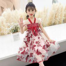 Платье для подростков платья из тюля девочек костюм принцессы