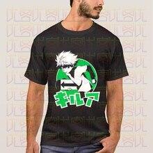 Mais novo 2020 verão japão anime hunter x hunter silva zoldyck logotipo camiseta de algodão presente homme topos tees S-4XL