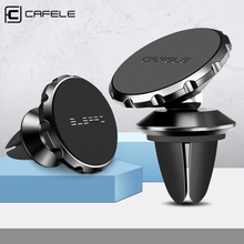 CAFELE магнитный автомобильный держатель для телефона, вращающийся на 360 °, автомобильный держатель для телефона на вентиляционное отверстие, универсальный приклеенный держатель для iPhone X XR XS