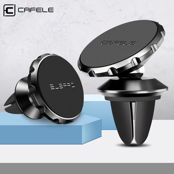 CAFELE Magnetic Car Phone Holder 360° Rotate Air Vent Phone Car Holder For Cell Phone Universal Pasted Holder For iPhone X XR XS image