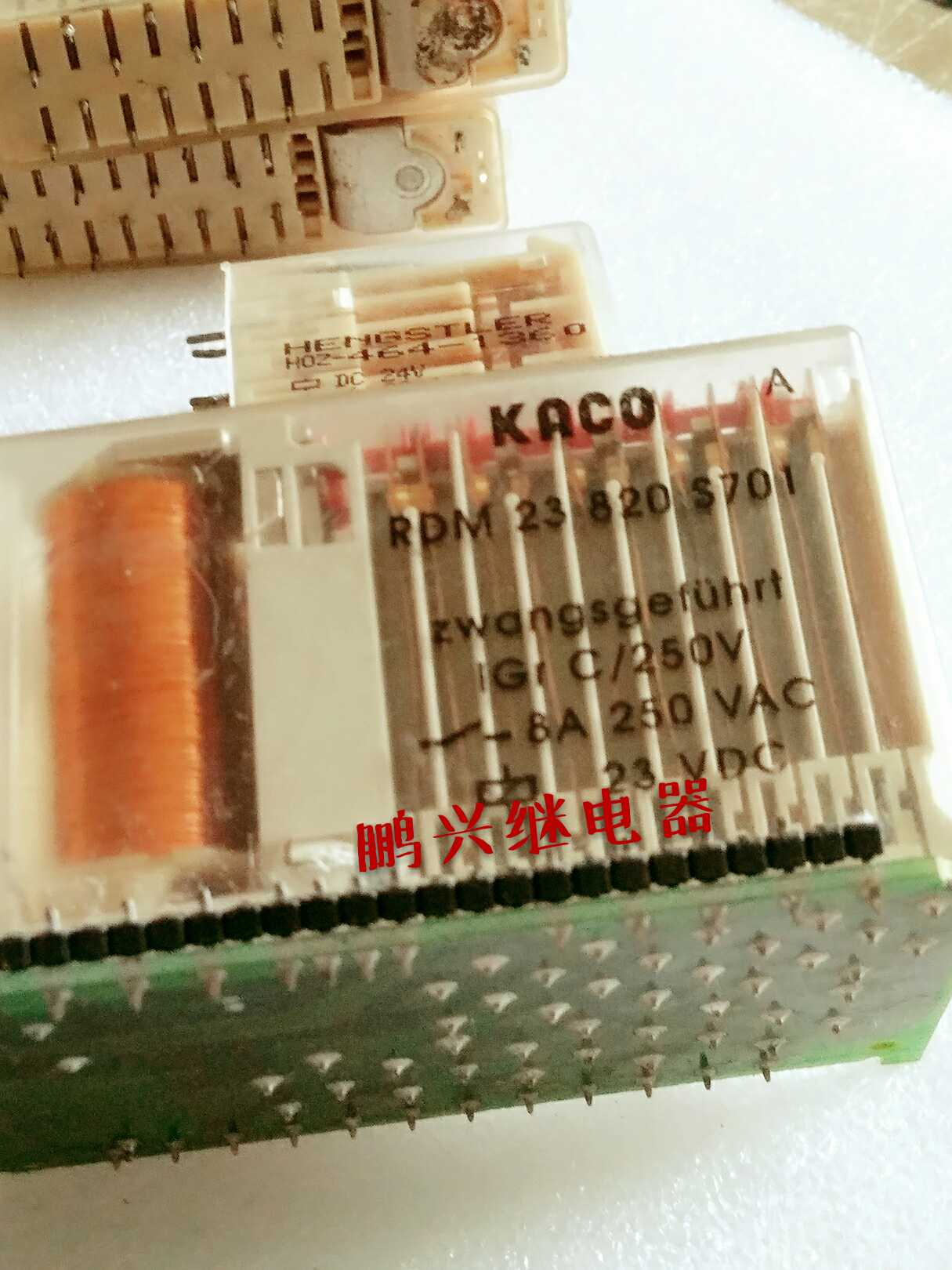 Free Shipping 10PCS/LOT RDM 23 820 S 701 23VDC Germany Safety Relay