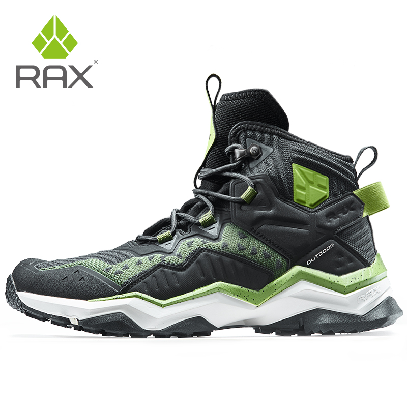 RAX Mens Waterproof Trekking Boots Breathable Hiking Shoes Outdoor Sports Sneaker Men Mountain Boots Hunting Camping Shoes Women