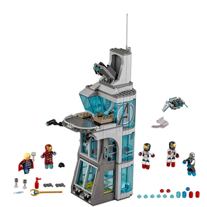 Image 4 - Upgraded Version Ironman Compatible Lepining Avenger Tower Fit Avengers Gift Building Block Bricks Toys