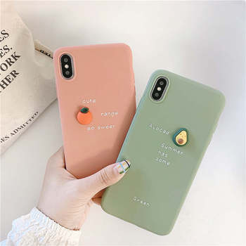 3D Candy Fruit Avocado Soft Phone Case For Huawei Y9 2019 P20 P30 Mate 20 lite Honor 20 Pro 8X Cover For honor 10 lite Nova 3i luxury tempered glass case for huawei honor 8x p20 pro mate 20 lite mate 10 lite 20 pro nova 2i 3 3i case shockproof back cover