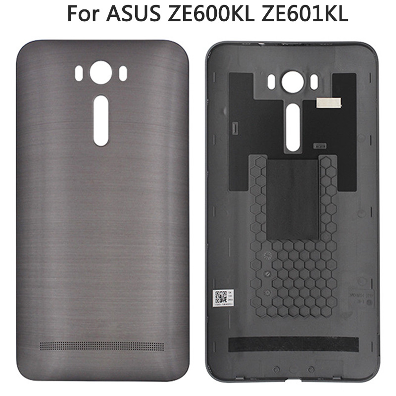 New ZE600KL Battery Back Cover For ASUS Zenfone 2 Laser ZE601KL Z011D 6 Inch Battery Door Housing Case With Power Button Housing image