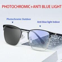 Zerosun Photochromic Glasses+anti Blue Light+UV400 Computer Glasses Men Women Bl