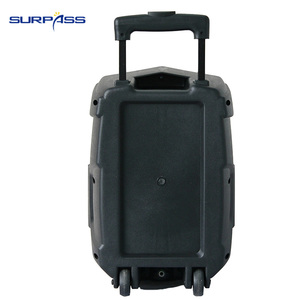 Image 4 - Portable Outdoor Party Subwoofer Bluetooth Battery Speaker Big Power 8 Inch Trolley Speaker LED Light Music Amplifier
