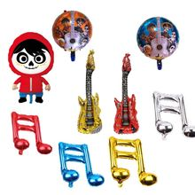 18 polegada filme coco mig tema balões de folha de alumínio decoração de festa balões girar balão fontes da festa de aniversário