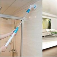 Cleaning Brush Electric Spin Scrubber Cordless Chargeable Bathroom Cleaner with Extension Handle Adaptive Brush Tub Tile Tools