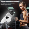 Breathing Trainer Exercise Lung Face Mouthpiece Respirator Fitness Equipment for Household Healthy Care Accessories 2