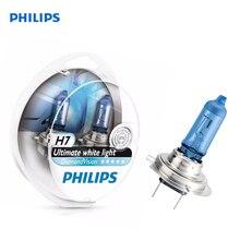 Philips 12972DVS2 car headlight 2 PCs H7 12V 55W PX26d 5000K White cold. light-голуб. оттен Diamond Vision Halogen lamp