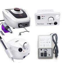 Маникюрный и педикюрный аппарат, 35 000/20 000 об/мин, электрическая машинка для маникюра и педикюра, инструмент для обработки ногтей, дрель для ногтей