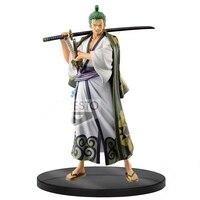 In stock One Piece Banpresto Figure The Grandline Men vol.2 DXF Roronoa Zoro PVC action figure model toy