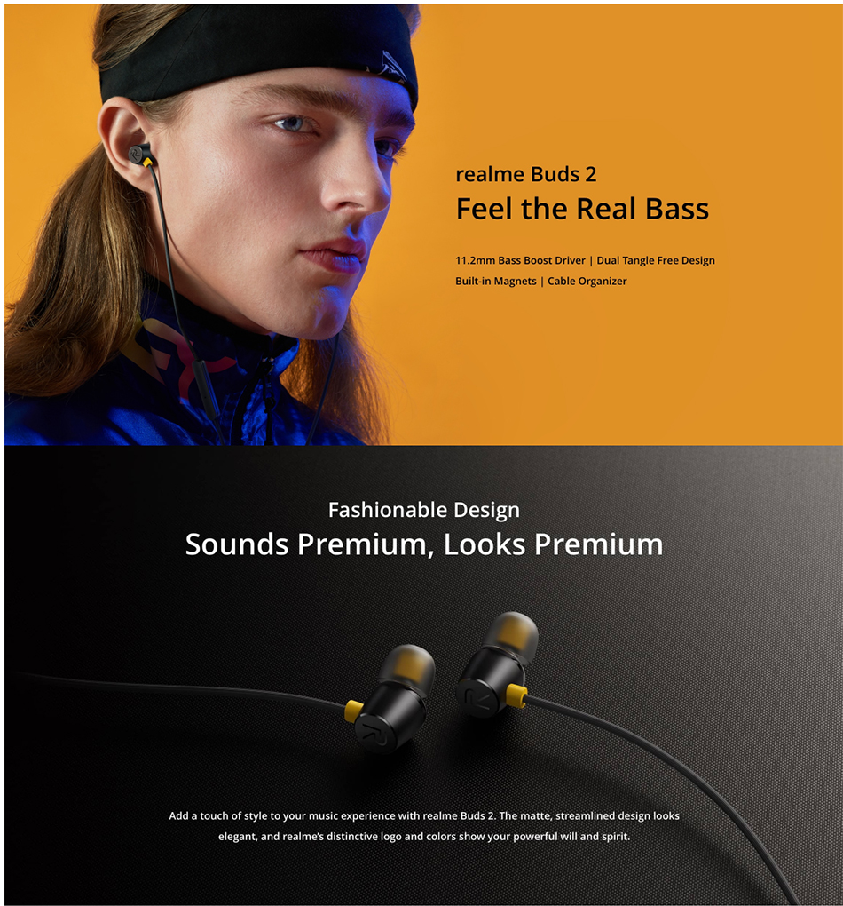 Realme Buds 2 Wired Headset 6