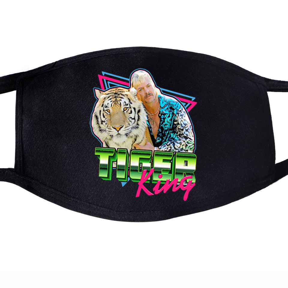 The Tiger King Free Joe Exotic For President Unisex Mouth Black Half Mouth Mask Anti Dust Anti-bacterial Quarantine Dust Masks