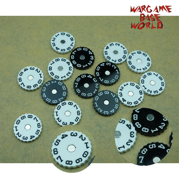 Wargame Base World - Wound Counter - Dial Plate