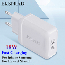 Pd 18W Usb C Type C Snel Opladen Voor Iphone 12 11 8 X Xr Xs Max Charger voor Samsung Xiaomi Qc 3.0 Quick Charge Travel Adapter