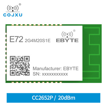 E72-2G4M20S1E CC2652P multi-protocol 2.4GHz Wireless module 20dBm 100mW SMD SoC module industrial grade Wireless Transceiver