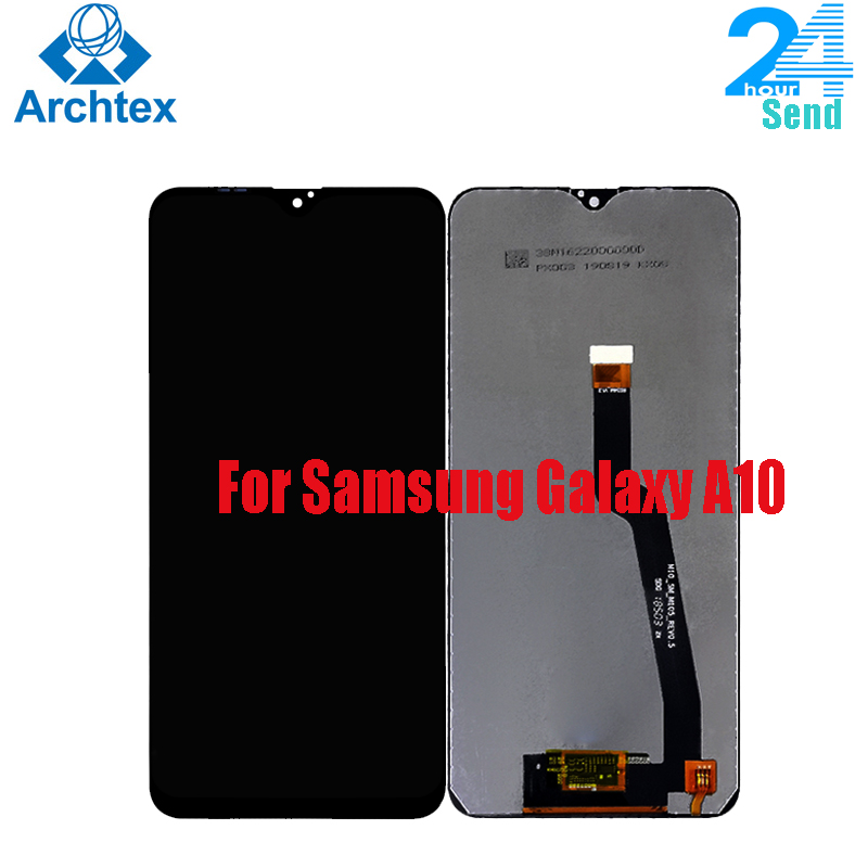 For Samsung Galaxy A10 A105 SM-A105F A105G <font><b>A105FN</b></font>/DS A1 LCD Display +Touch Screen Digitizer Assembly Replacement Parts 6.2 inch image