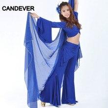 Suits Belly-Dance-Costume-Set Pants Practice-Wear Tribal Performance Dancing Oriental