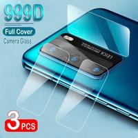 Lente de cámara de cristal templado para Huawei P30 Pro P40 Lite P20, Protector protectores de pantalla Mate 20 Lite 40 30 Pro Honor 20 Nova 5t, 3 uds.pelicula vidrio mamparas protectoras