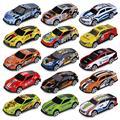 Милый детский игрушечный автомобиль, металлическая модель автомобиля, карманный мини-автомобиль, игрушка для мальчиков, имитация гоночног...