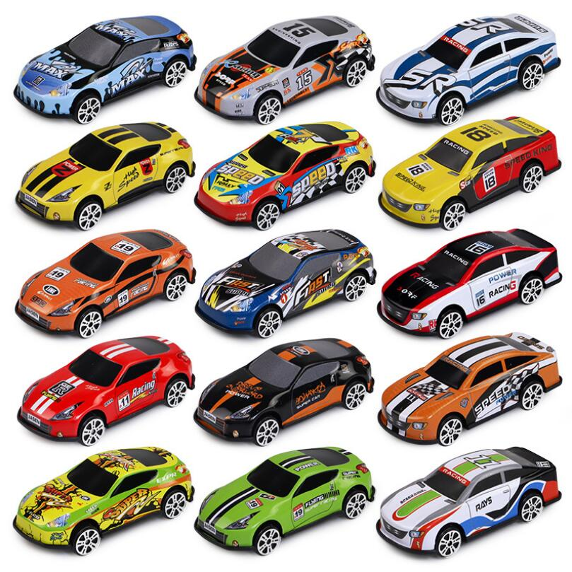 Cute Children's Toy Car Pull Back Iron Car Model Mini Pocket Car Boy Toy Simulation Racing Car Anti-fall