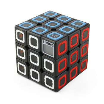 цена на 3x3x3 Timer Magic Cube Professional Speed Puzzle Cubes Kids Educational Puzzle Toys For Children Magico Cubo For Adult Relaxing