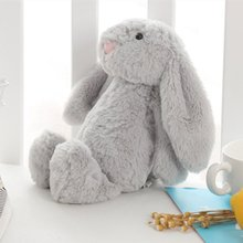 Soft Stitch Plush Toys For Children Bunny Sleeping Mate Stuffed &Plush Animal Baby For Infants 25cm Cute Easter Rabbit Doll Baby