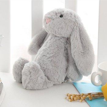 Soft Stitch Plush Toys For Children Bunny Sleeping Mate Stuffed &Plush Animal Baby For Infants 25cm Cute Easter Rabbit Doll Baby 38cm luxury mogo bunny doll easter gift soft toys 100% handmade stuffed animal ballerina bunny doll princess bunny doll