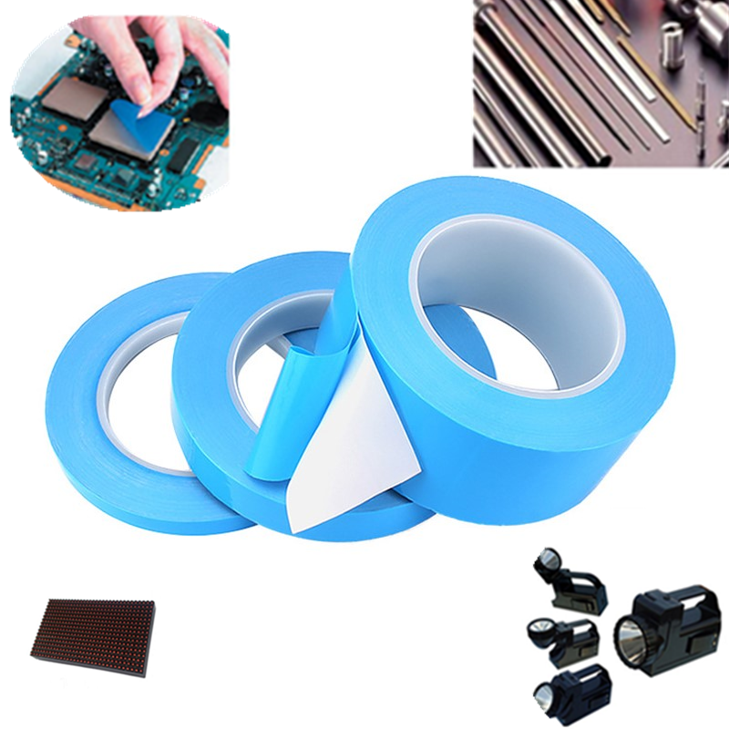 25M/Roll Durable 3 5 8 10 MM Width Transfer Tape Double Side Thermal Conductive Adhesive Tape for Chip PCB LED Strip Heatsink on AliExpress
