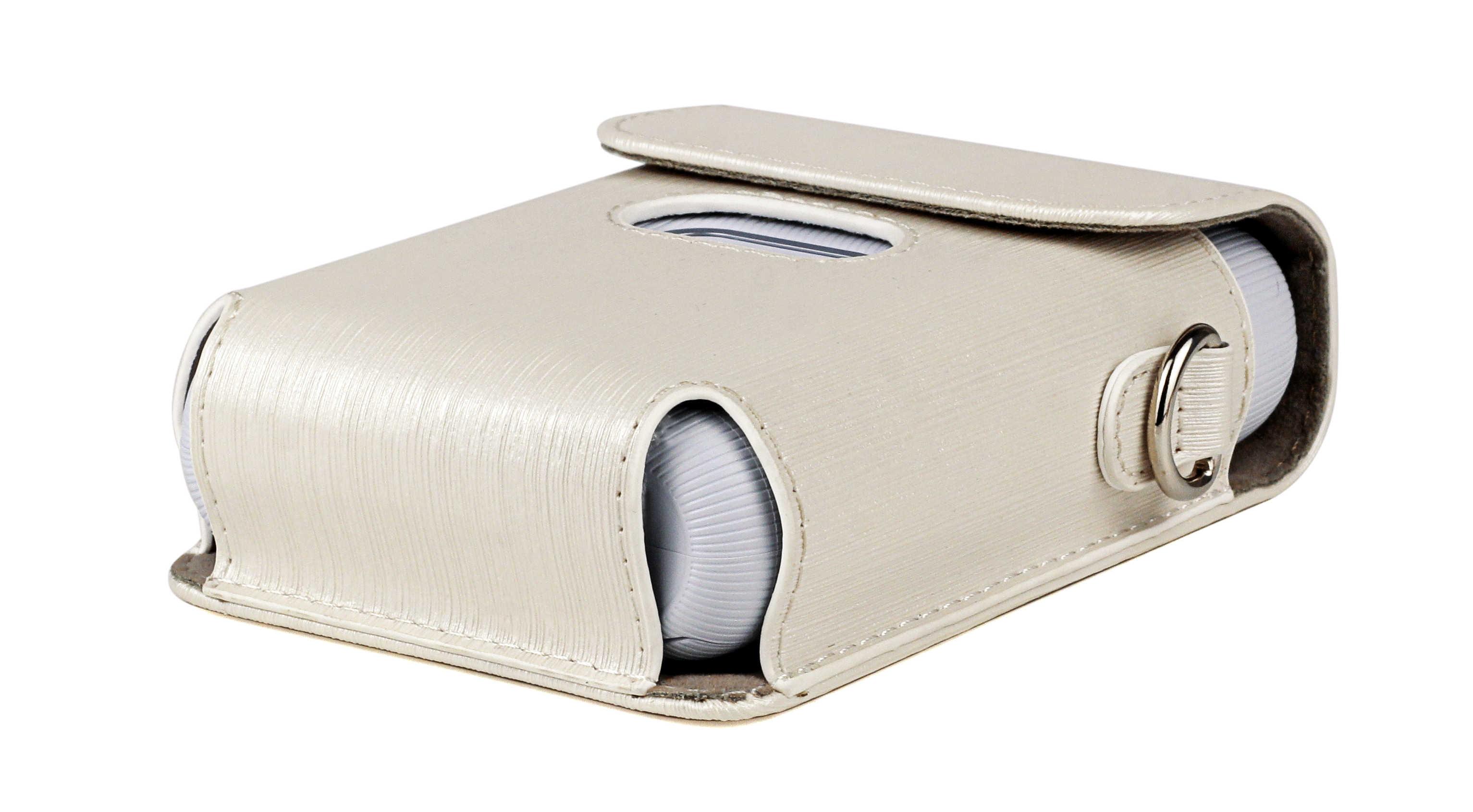 Estuche r/ígido para la Impresora Fujifilm Instax Mini Link Smartphone Forro Negro Negro Bolsa de Almacenamiento de Viaje