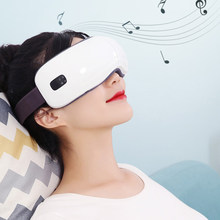 Eye Massager Electric Eye Heat Mask Music Relax Portable USB Rechargeable Adjustable Pressure Eye Protection Care Device(China)