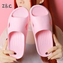 Домашние мягкие тапочки удобные сандалии для пар женские летние