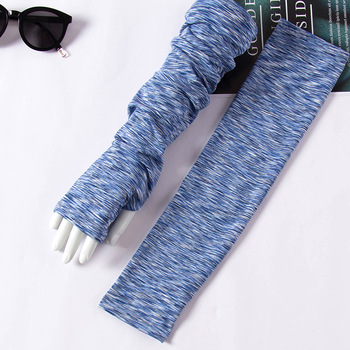 2020 Hot New Arrivals Sunscreen Ice Silk Sleeves Arms Warmers Tattoo Sleeve Summer Anti-UV Outdoor Cycling Mens Long