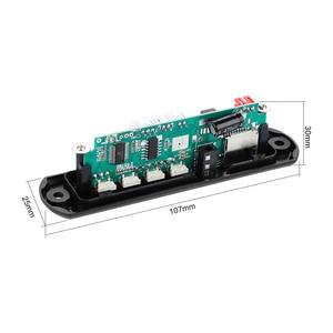Image 4 - Aiyima 15Wx2 bluetoothアンプボードMP3デコーダボードbluetooth 5.0受信機wav、ape、flacオーディオデコードusb tf fm aux