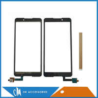 For BQ BQ-5707G Next Music BQ 5707G For Wiko Lenny 5 W_K400 Touch Screen Digitizer Panel Replacement Glass With Tape