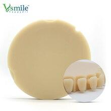 Dental Material  Monolayer PMMA Dics 95mm CADCAM System for Temperary Crown 5 pcs a Set