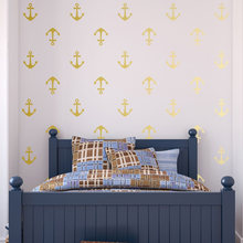 Baby Nursery Baby 24 Set Two Pattern Arrow Wall Sticker Kids Boys Bedroom Decor Removable Decals PW982(China)