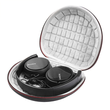 Caso duro per Sony MDRZX110NC/ZX300/ZX310/MDRZX110 ZX Series Stereo/MDRZX110AP Extra Bass Cuffie di Viaggio sacchetto di trasporto Bagagli