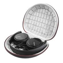 Hard Case für Sony MDRZX110NC/ZX300/ZX310/MDRZX110 ZX Serie Stereo/MDRZX110AP Extra Bass Kopfhörer Reise durchführung Lagerung Tasche