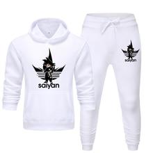 Men's Sets SAIYAN Sport Suits hoodies and Pants who